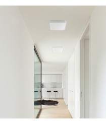 3000K grey LED ceiling light in 3 sizes - Iris – Faro