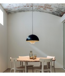 Hanging decorative lamp with tears - Raindrops – Milan