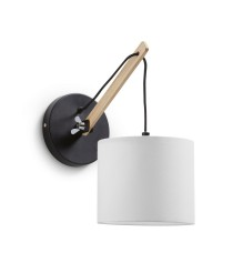Wood wall lamp - Britta - Exo - Novolux