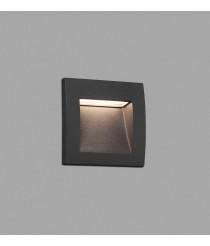Dark grey recessed lamp – Sedna–1 – Faro
