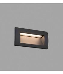 Dark grey recessed lamp – Sedna–2 – Faro