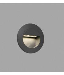 Dark grey recessed lamp – Mini Racing – Faro