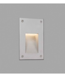 Grey recessed lamp with warm light – Filter – Faro