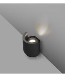 Dark grey LED wall projector – Noboru – Faro