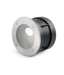 Asymmetric recessed floor lamp – Salt – Faro