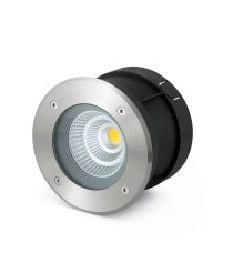 Stainless LED recessed lamp 60º– Suria–12 – Faro