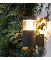 Dark grey wall lamp – Giza – Faro