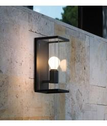 Dark grey post lamp – Nala – Faro