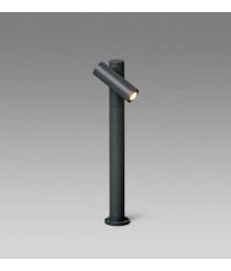Lámpara baliza orientable gris oscuro – Spy-2 – Faro