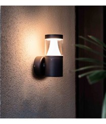 Dark grey wall lamp – Plim–1 – Faro