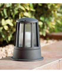 Dark grey LED beacon lamp – Surat – Faro