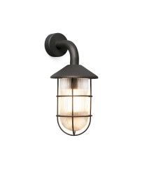 Black industrial style wall lamp – Honey – Faro