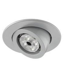 White finished aluminum recessed light Ø 10,7 cm – Luna Indeluz – Novolux