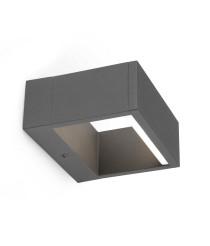 Dark grey LED wall lamp – Alp – Faro