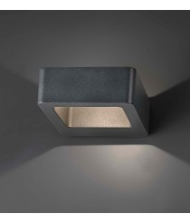 Modern dark grey LED wall lamp – Das – Faro