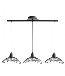 Metal 3 pendant lights with 2 finishes – Kasteli – IDP Lampshades