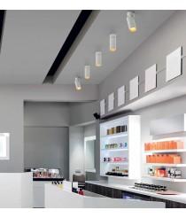 LED white aluminum spotlight in 3 finishes 3000K – Hidra – Indeluz - Novolux