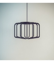 Lámpara colgante LED acabado negro 25W – Gabia Mini – Luzfin