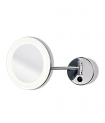 LED metal bathroom light with mirror IP 44 - Boan - ACB Iluminación