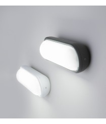 Modern wall lamp available in white and grey - Tone - Faro