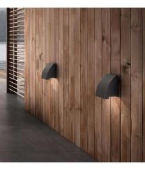Dark grey wall lamp - Proa – Faro