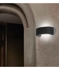 Dark grey wall lamp – Ancora – Faro