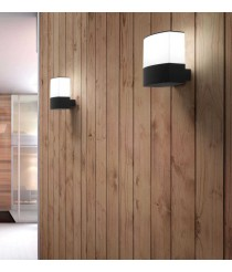 Dark grey wall lamp – Datna – Faro