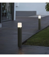 Dark grey urban style beacon lamp available in two sizes - Tram – Faro