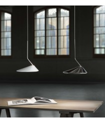 Triac adjustable LED pendant lamp in 2 colours - Nón Lámpara – Bover