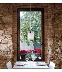 Glass pendant lamp in 2 finishes - Oliver – Bover