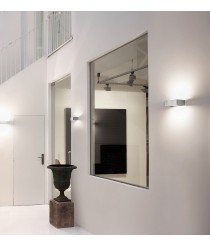 Matt nickel brass LED wall light in 7 sizes - Apolo - Pujol Iluminación