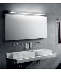 Chrome Aluminium LED Mirror Lamp in 3 sizes 3000K - Arcos - Pujol Iluminación