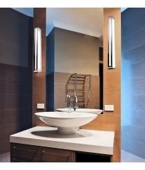 Chrome aluminium mirror wall light in 3 sizes – Arcos - Pujol Iluminación