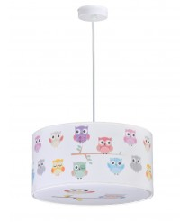 Children's Suspension Lamp - Owls 30cm - Anperbar