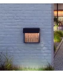 Aplique de pared regulable exterior con 3 acabados – Sisal – Bover