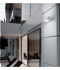 Outdoor wall light with different sizes, finishes and light sources - Apollo - Pujol Iluminación