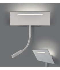 LED wall lamp + reading light 3200K - Ariel - ACB Iluminación