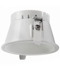 White finished recessed light Ø 8 cm – Nok2 Indeluz – Novolux