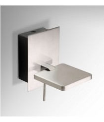 Rectangular wall LED wall light available in 3 finishes - Del - Pujol Iluminación