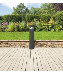 IP54 LED aluminum outdoor bollard 3000K - Bindella - Dopo - Novolux