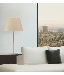 Steel table lamp without shade - Firenze - Exo - Novolux