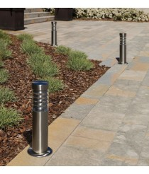 IP44 inox steel outdoor bollard light - Galerna - Dopo - Novolux