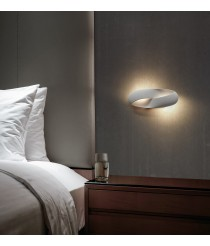LED white aluminum wall light 3000K - Ribbon - Exo - Novolux