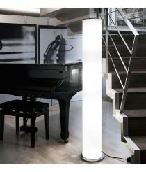 Lámpara de pie de pergamino poliester regulable 150 cm - Giravolt - Pujol Iluminación