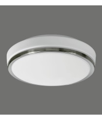 LED double layer glass ceiling lamp for bathroom IP44 - Lina - ACB Iluminación