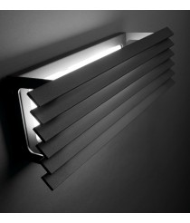 Outdoor LED wall light IP 55 horizontal in 2 colours - Lineana H – Bover