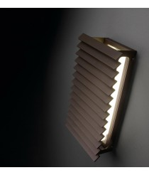 Outdoor LED wall light IP 55 vertical in 2 colours - Lineana V – Bover