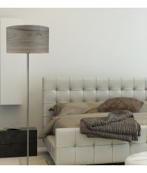 Wood floor lamp available in 3 finishes – Madera – IDP Lampshades