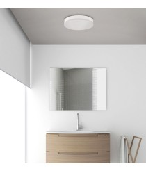 Aplique de techo LED de acrílico con acabado blanco y sensor de movimiento IP 54 3000-6500K – Madison – ACB Iluminación