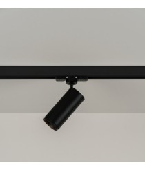 LED spotlight track Ø 5 cm and 17.2 cm high in 2 finishes and 2 orientable and adjustable light sources 2700K – Haul – Milan